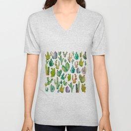 Cactus Collab. Unisex V-Neck