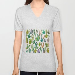 Cactus Collab. Unisex V-Neck