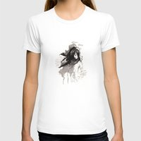 les miserables T-shirts featuring Miseria de los miserables (sketch version) by Niko Bleach