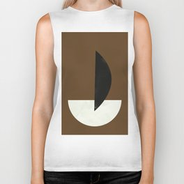 Geometric Abstract Art #5 Biker Tank