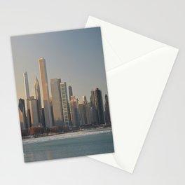 Chicago skyline #2 Stationery Cards
