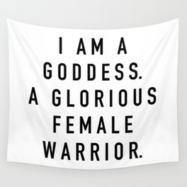 Pawnee Goddess Wall Tapestry
