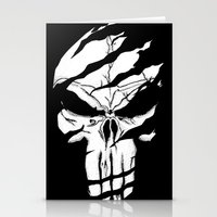 punisher Stationery Cards featuring Punisher by Spectral stories