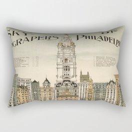 Vintage poster - Philadelphia Rectangular Pillow