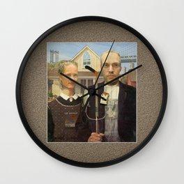 Brooklynites Wall Clock