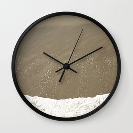 Where Two Worlds Collide Wall Clock