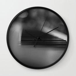 music glimpse Wall Clock