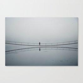 Foggy days Canvas Print