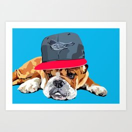 Roscoe Art Print