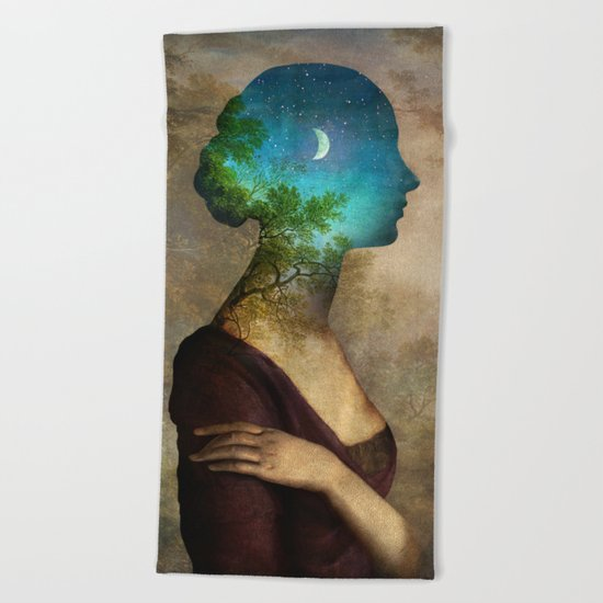 A Midsummer Night's Dream Beach Towel