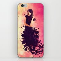 breaking iPhone & iPod Skins featuring Breaking by Roslyn Erinn Abbedonn