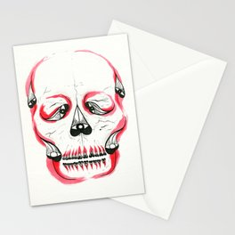 Desert Pea Skull - Soul Discovery Stationery Cards