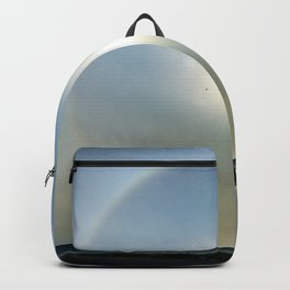 Plane in the Sun circle Backpack