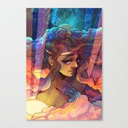 the irl goddess Canvas Print