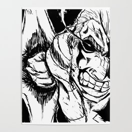 All Might - Plus Ultra Poster