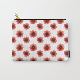 Meadow Red Poppies Carry-All Pouch