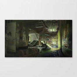 Abandoned Asylum Canvas Print