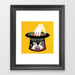 The Rabbit Séance Framed Art Print