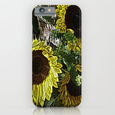 For the Sake of Sunflowers Slim Case iPhone 6s