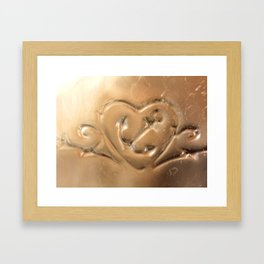 Your Love is My Anchor- Vintage Glass Framed Art Print