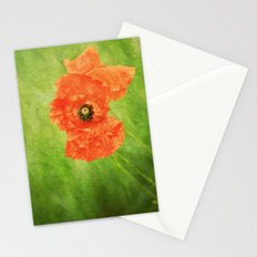 Poppy Paint Stationery Cards