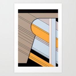 Reverse Art Print