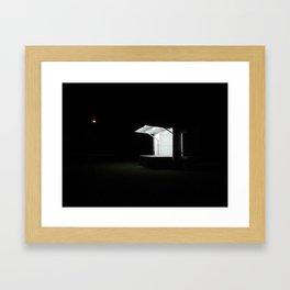 Empty Stage Framed Art Print