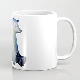blue bear Coffee Mug