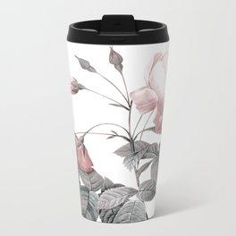 Rose 2 Metal Travel Mug
