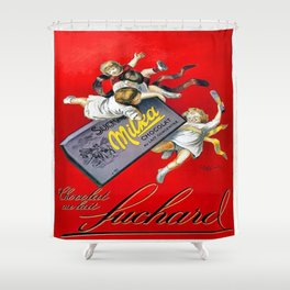 Vintage poster - Chile Shower Curtain