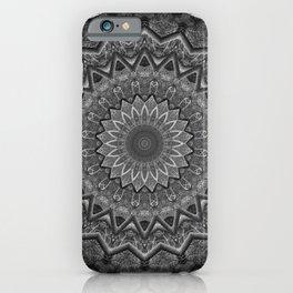 Mandala prehistoric iPhone Case