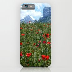 PoppiesMountains Slim Case iPhone 6s