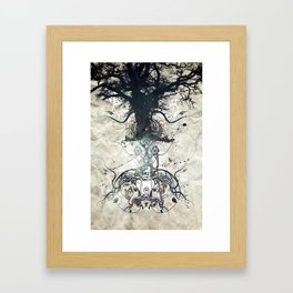 Triad Framed Art Print