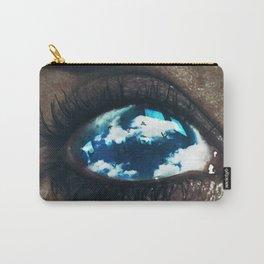 Ojos color cielo Carry-All Pouch