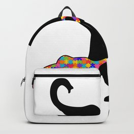 Elephant Autism Awareness Support Backpack