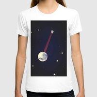 banjo T-shirts featuring Moon Banjo by Mel Moongazer