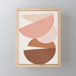 Abstract Stack II Framed Mini Art Print