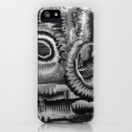 Life Cycle BW1 iPhone Case