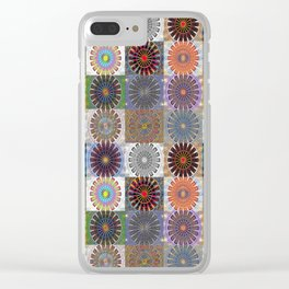 Invigorating Emergence Collection Clear iPhone Case