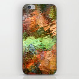 Abstract Water Reflection iPhone Skin