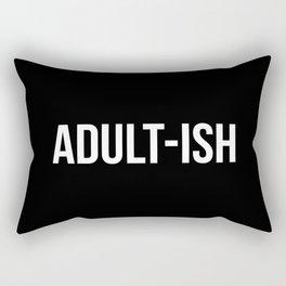 Adult-ish Funny Quote Rechteckiges Kissen