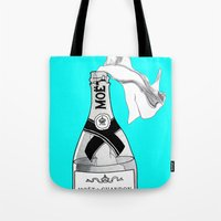 anarchy Tote Bags featuring Bourgeois Anarchy by tCAP