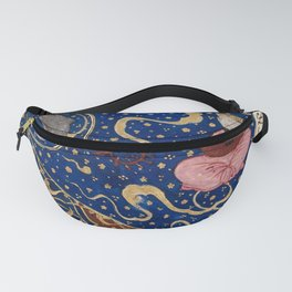 Horoscope from The book of birth of Iskandar (1411) - A Planet in Pisces, the Fish Fanny Pack