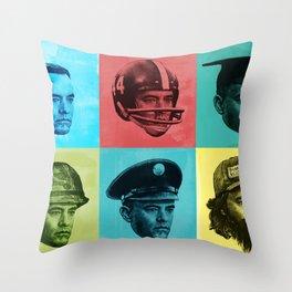 Forrest Gumps Throw Pillow