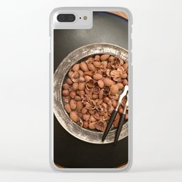 Christmas Nuts! No. 1 Clear iPhone Case