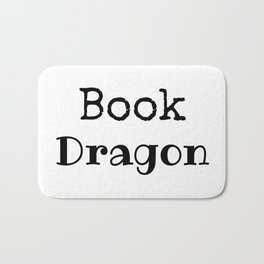 Book Dragon Bath Mat