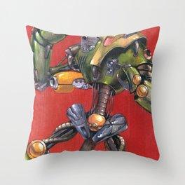 Identibot Throw Pillow