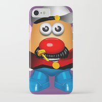 popeye iPhone & iPod Cases featuring Popeye Potato Head by tgronberg