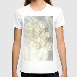 Shimmery Pearly Abalone Shell T-shirt