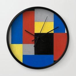 Composition XX (High Resolution) Wall Clock